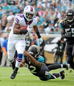 CJ Spiller is back, ready to make us forget last year's letdown (Melina Vastola-USA TODAY Sports)