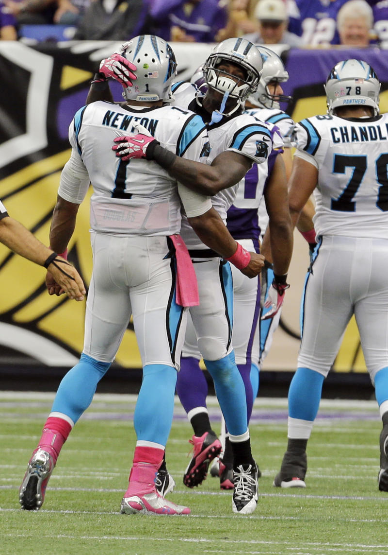 Panthers' LaFell proves he can do more than catch