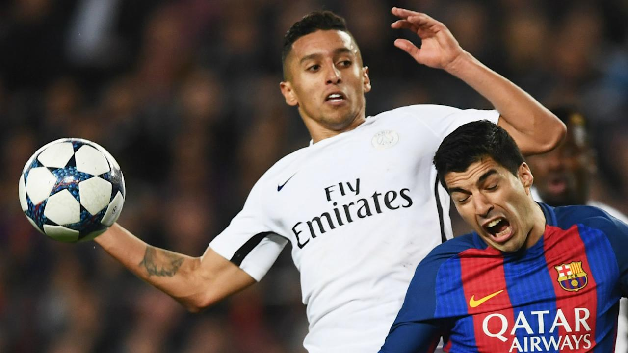 The Paris Saint-Germain defender has discussed a remarkable Champions League contest with his fellow Brazilian, despite the memories being painful