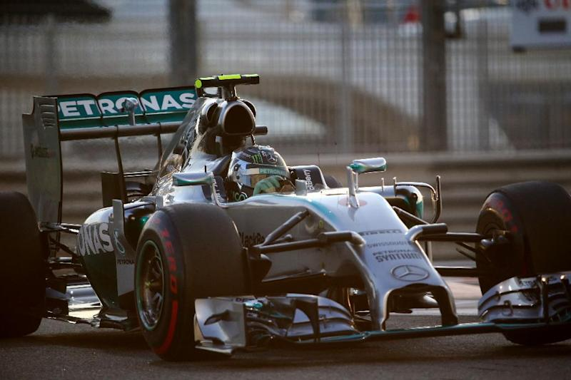 Motor racing - Rosberg in pole for F1 title decider