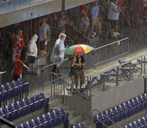 Rays-Phillies opener rained out