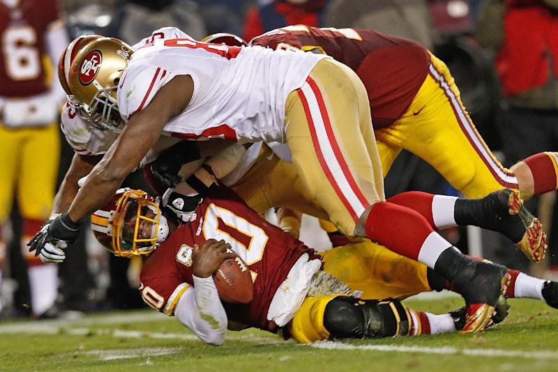 Redskins' RG3 hits back at criticism over father