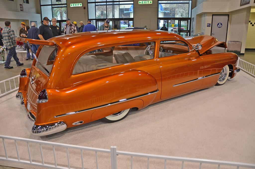 1949 Cadillac Phantom Wagon, owned by Jim Noteboom