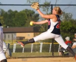 Clarke pitcher Sarah Cornell struck out 20 of 22 batters in her season opener — YouTube