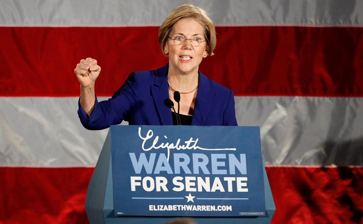 A record number of women will be headed to the Capitol in 2013. Among them is Elizabeth Warren, who beat incumbent Massachusetts Sen. Scott Brown in one of the most expensive races of the year. (Yoon S. Byun/The Boston Globe via Getty Images)