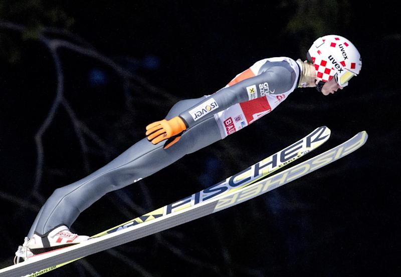 Poland's Kamil Stoch wins ski jumping World Cup