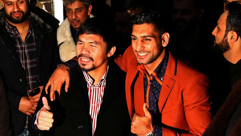 Pacquiao-Amir Khan fight pushed back to May 20, venue still TBD