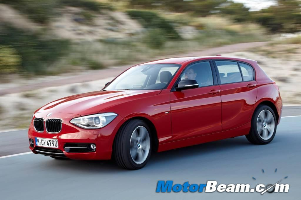 The 1-Series will become the entry-level BMW in India, when it is launched late next year. It will be locally assembled at BMW's Chennai facility.