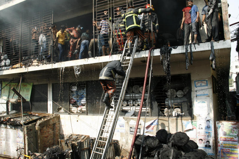Recent garment factory fires in Bangladesh