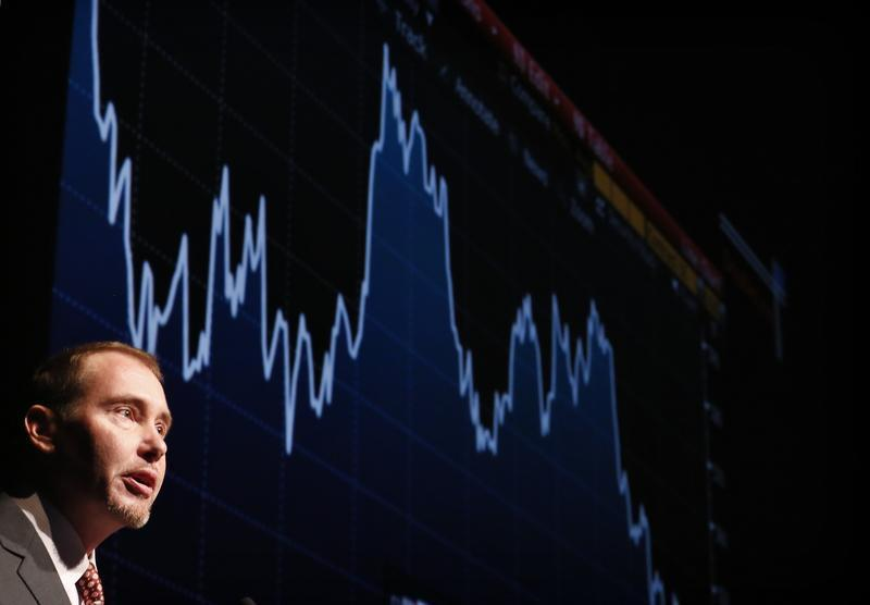 Gundlach, star bond investor and head of DoubleLine Capital, speaks at the Sohn Investment Conference in New York