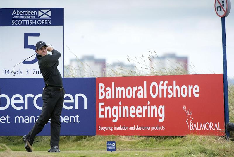 2nd-round jinx strikes McIlroy again in Scotland