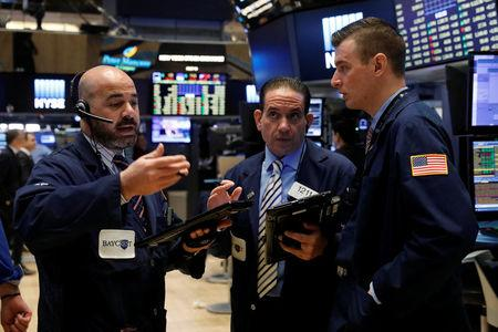 US stocks inch higher following solid April jobs report