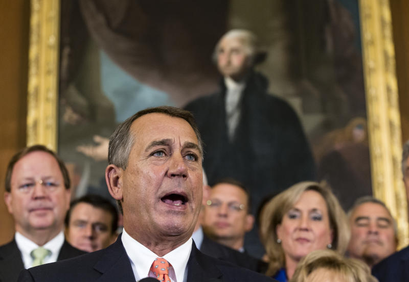 GOP House: Keep government open, hit 'Obamacare'