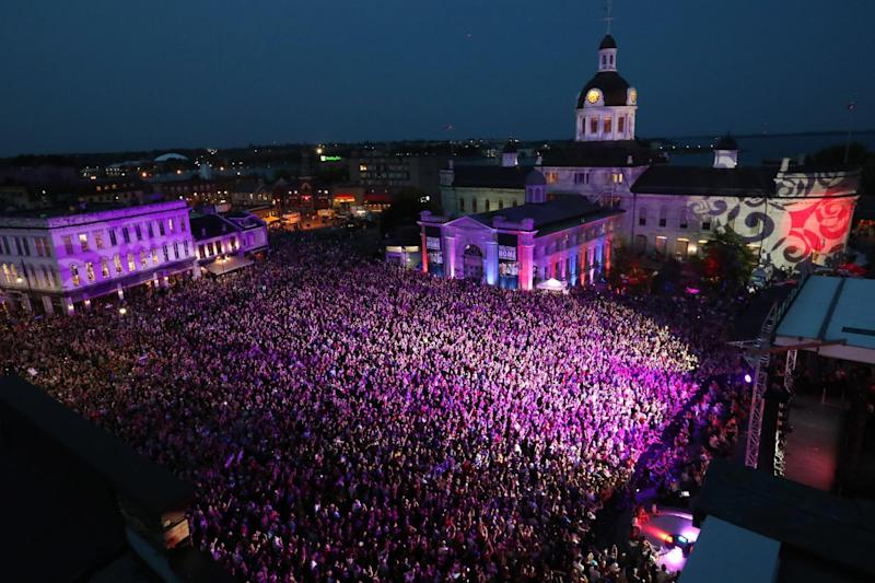 Emotional final concert from Tragically Hip
