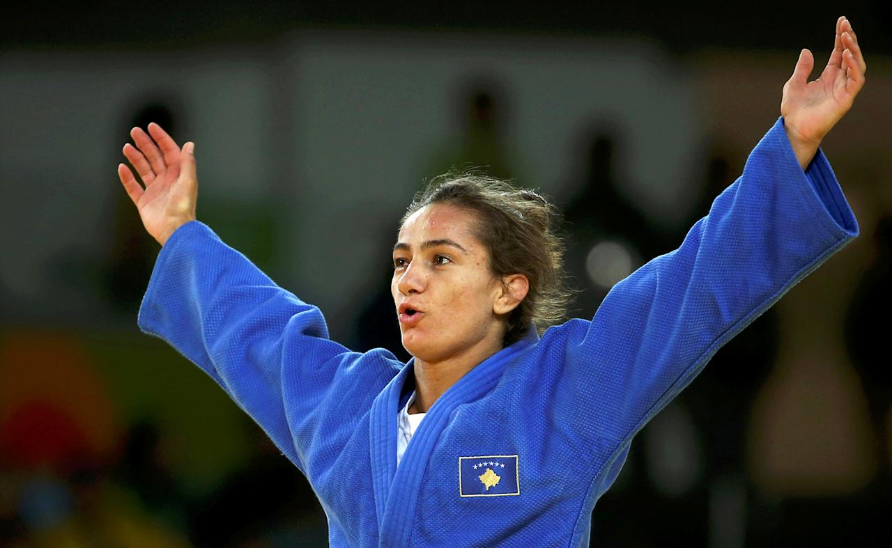 """<p>Kosovo made its debut as an Olympic nation at the 2016 Games, and already won its <a rel=""""nofollow"""" href=""""http://sports.yahoo.com/news/kosovo-wins-first-ever-olympic-medal-and-its-gold-203819014.html"""">first gold medal</a> thanks to judo champ Majlinda Kelmendi. (REUTERS/Toru Hanai/File Photo) </p>"""