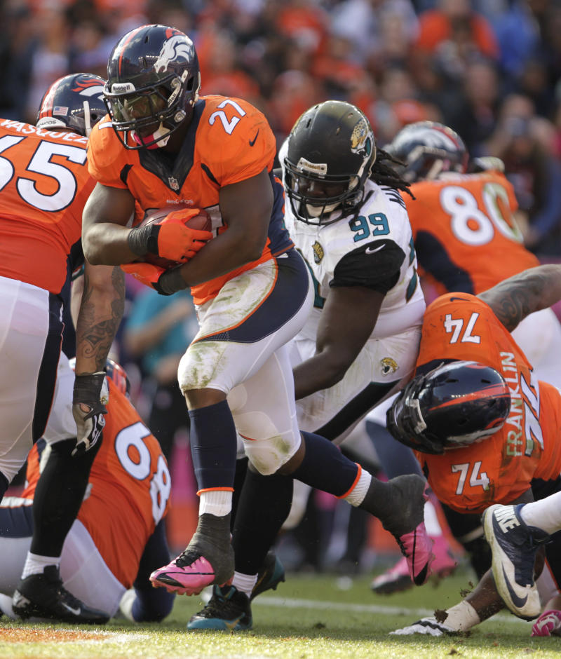 Broncos lurch to 35-19 win over Jaguars