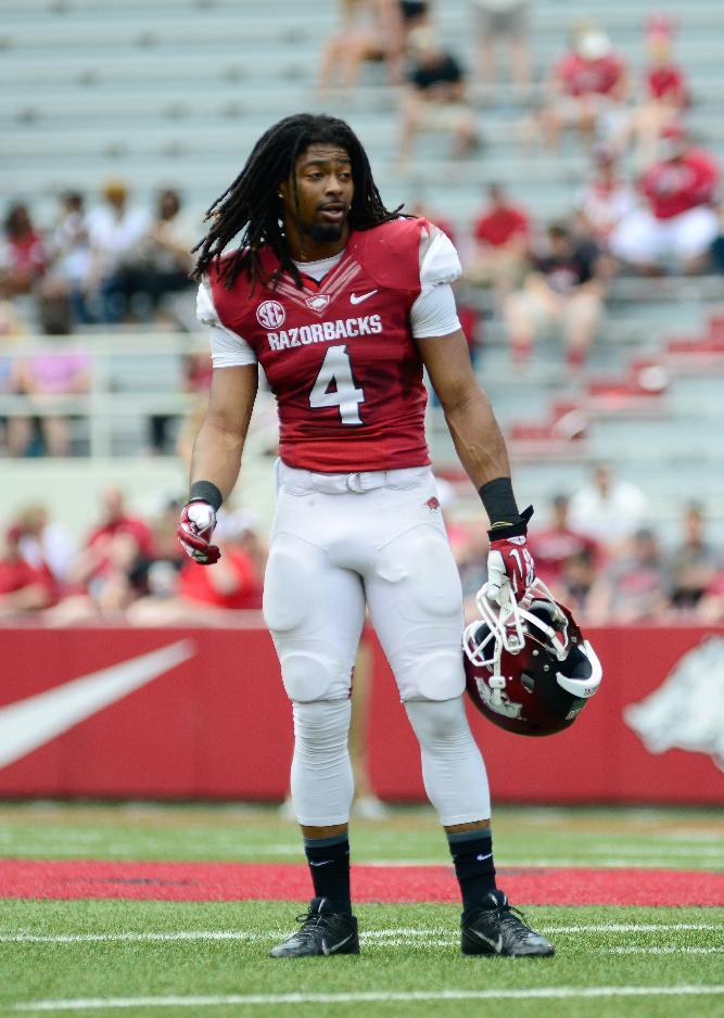 Marshall shines during Arkansas' Red-White game