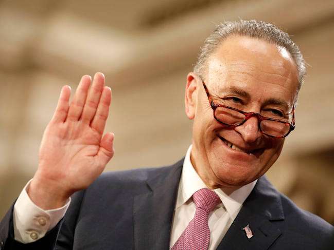 news chuck schumer trolls mitch mcconnell with copy letter