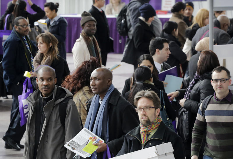 The job market Fed faces: healing but still ailing