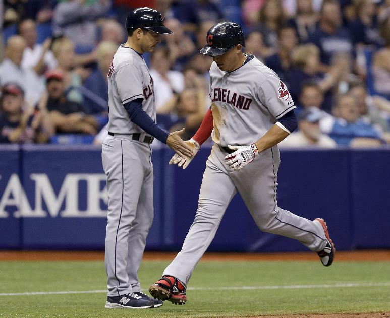 Aviles hits 3-run homer, Indians beat Rays 6-3