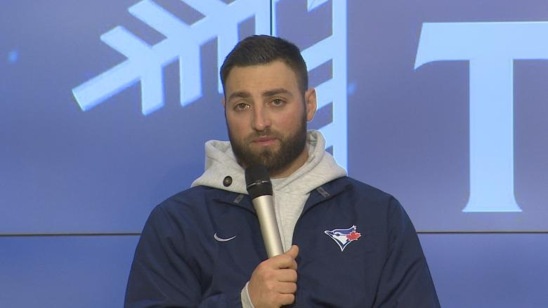 Toronto Blue Jays players make winter tour stop in Edmonton