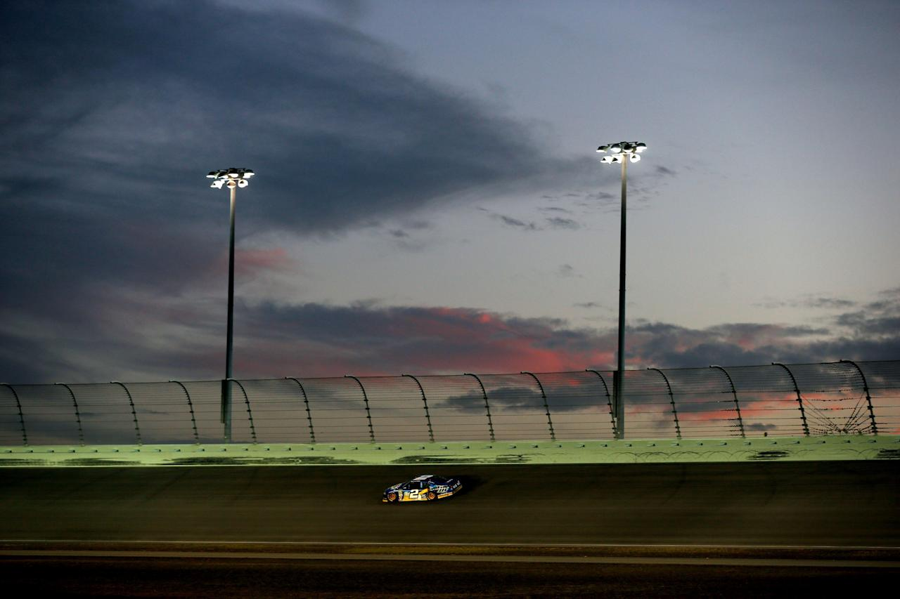 HOMESTEAD, FL - NOVEMBER 18:  Brad Keselowski drives the #2 Miller Lite Dodge during the NASCAR Sprint Cup Series Ford EcoBoost 400 at Homestead-Miami Speedway on November 18, 2012 in Homestead, Florida.  (Photo by Chris Trotman/Getty Images for NASCAR)