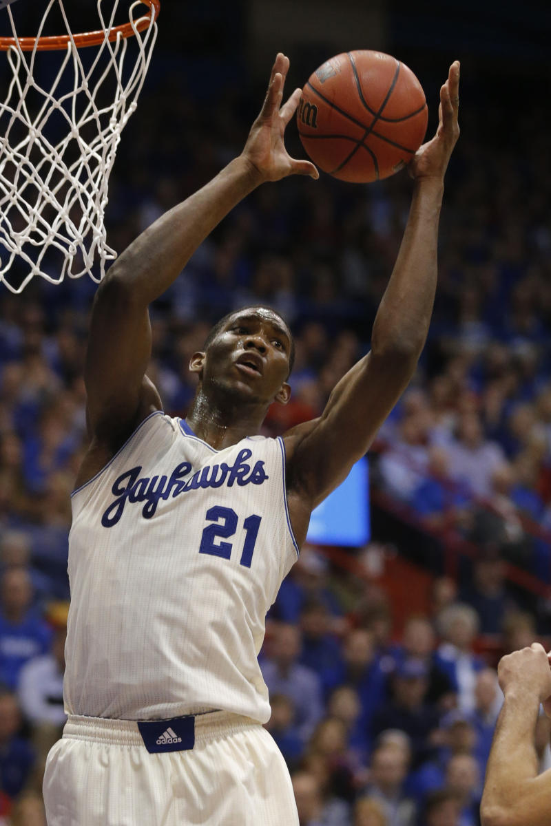 Kansas' Embiid likely out for start of NCAAs