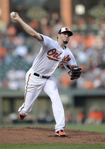 Orioles hit 3 HRs in 6-3 win over Yankees