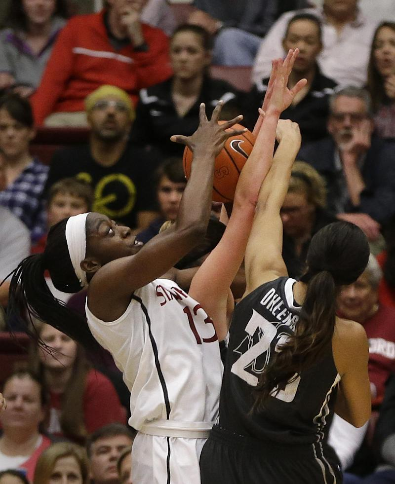 Ogwumike, No. 5 Stanford top Washington St 84-64
