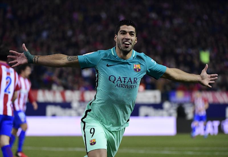 Suarez Secures Copa Final Spot For Nine-Man Barca