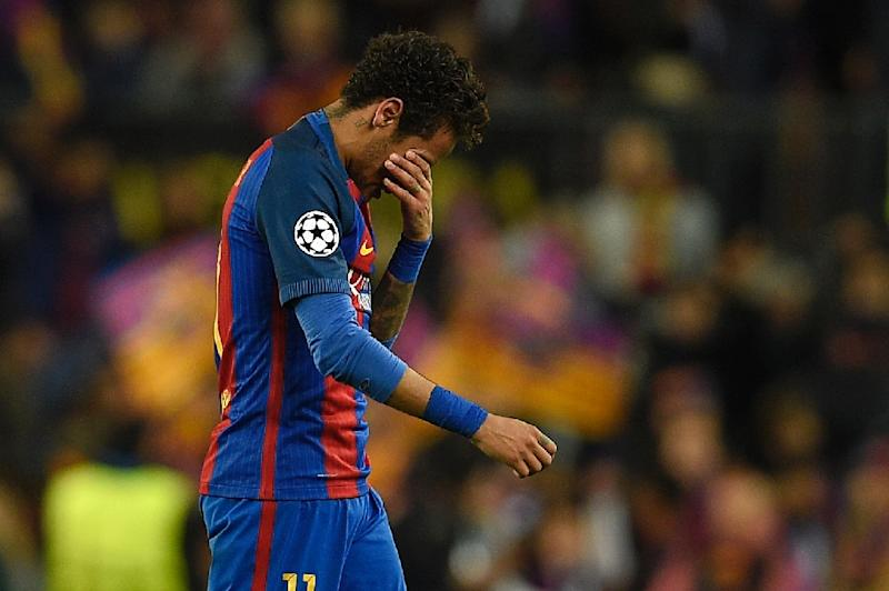 Neymar ban upheld - misses El Clasico