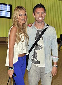 Keane greeted with enthusiasm upon L.A. arrival
