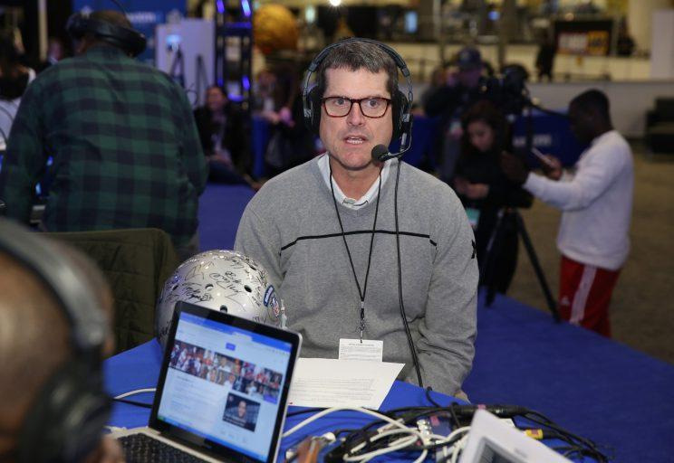 Jim Harbaugh Takes Shot At Paul Finebaum After Criticism