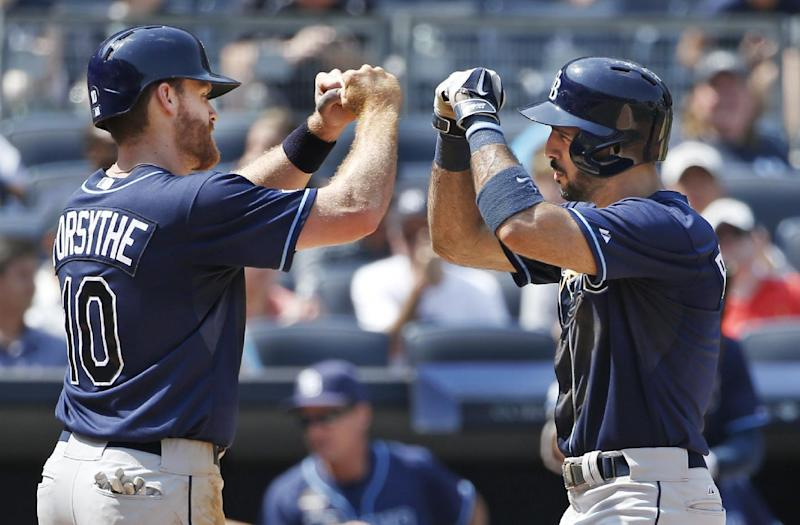 Rodriguez hits 2-run homer, helps Rays sweep Yanks