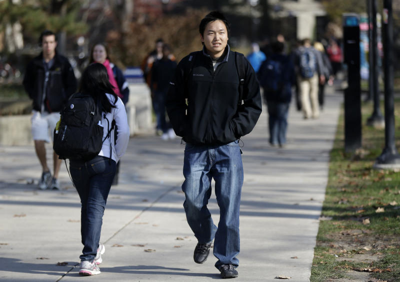 US colleges look to foreign students
