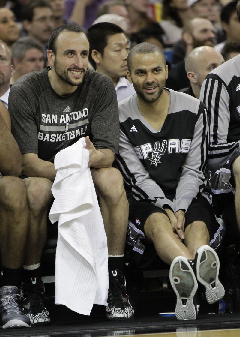 Duncan, Ginobili out for Spurs at Warriors