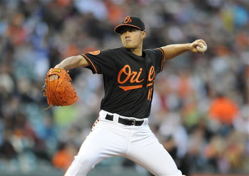Orioles beat Dodgers 6-1 for doubleheader sweep