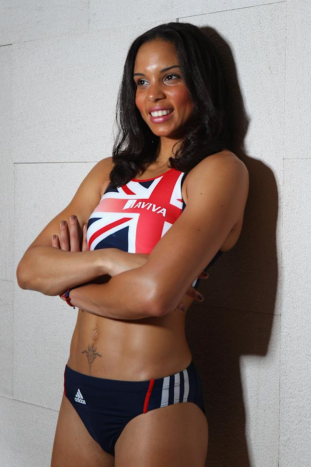 ULSAN, SOUTH KOREA - AUGUST 21:  Louise Hazel of Great Britain and Northern Ireland poses for a portrait during the Aviva GB&NI Team Preparation Camp on August 21, 2011 in Ulsan, South Korea.  (Photo by Mark Dadswell/Getty Images)