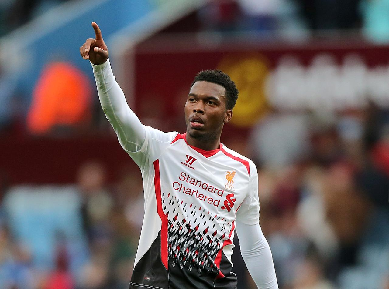 *ALTERNATE CROP* Liverpool's Daniel Sturridge celebrates after the final whistle
