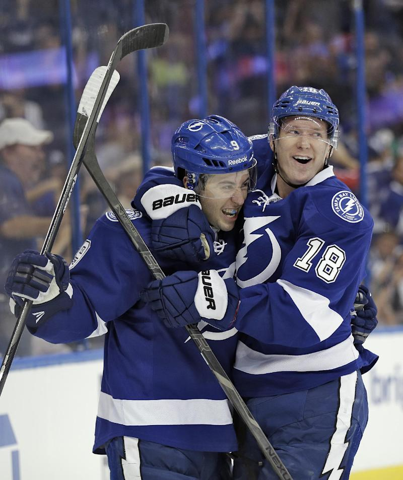 Johnson, Palat, MacKinnon up for rookie award
