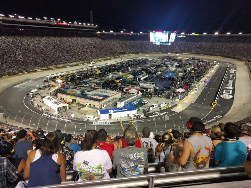 Game at Bristol Speedway Will Net Tennessee $4M