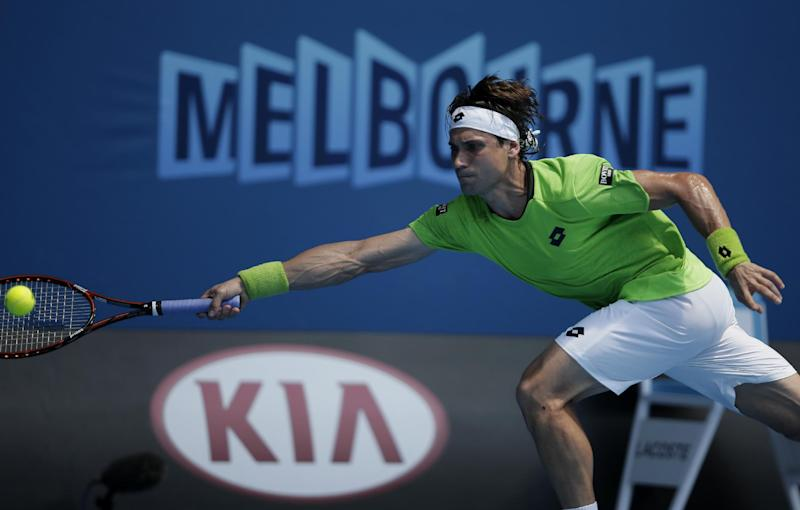 Ferrer advances to 3rd round at Australian Open