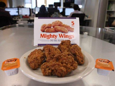 McDonald's Mighty Wings