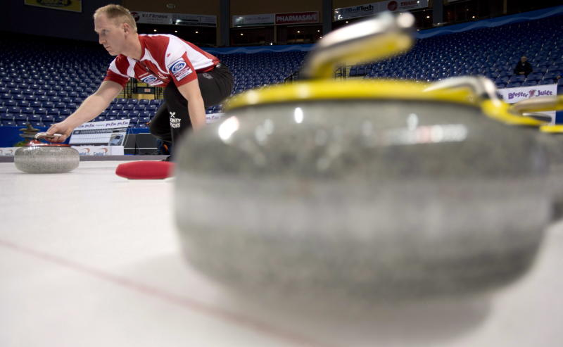 Team Canada skip Brad Jacobs (The Canadian Press)
