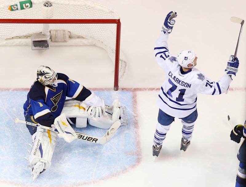 Maple Leafs' Clarkson suspended 2 games