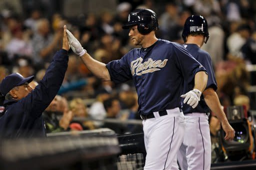 Richard helps Padres top Royals 2-1