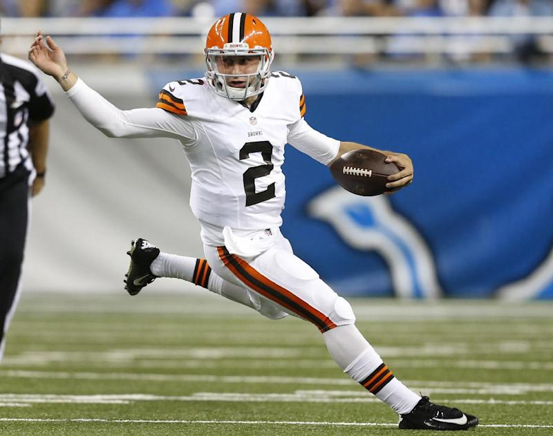 Manziel, Hoyer both to work with Browns 1st team