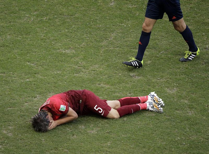 Portugal's Coentrao ruled out of World Cup
