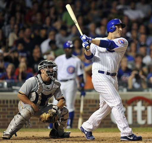Rizzo, Barney hit 3-run HRs, Cubs beat Pirates