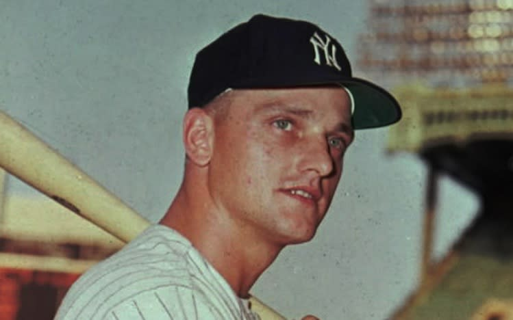Did Roger Maris really return four kickoffs for touchdowns in high school? -- Associated Press